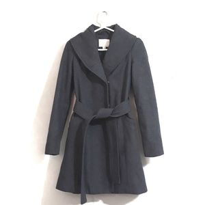 A New Day Wool-Blend Trench Coat for Women Size XS